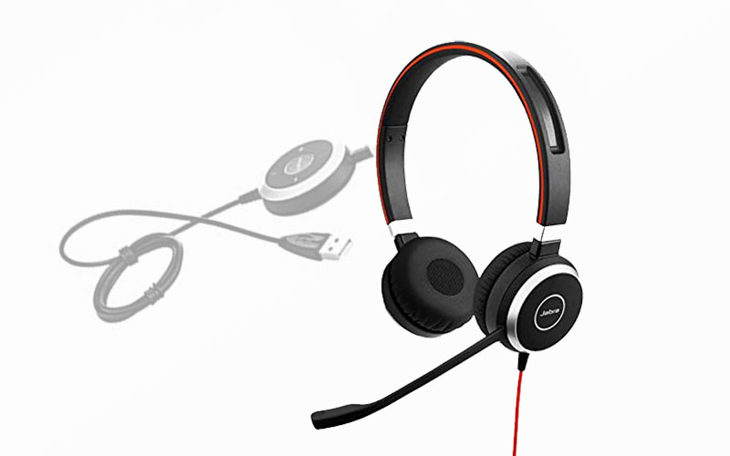 Jabra Evolve 40 Stereo UC – High Quality Unified Communication Headset